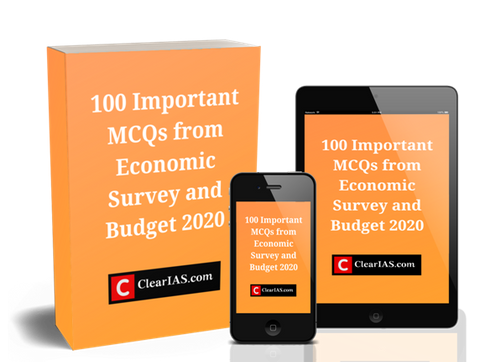 100 Important MCQs from Economic Survey and Budget 2020 (PDF) from pdf book shopee online download
