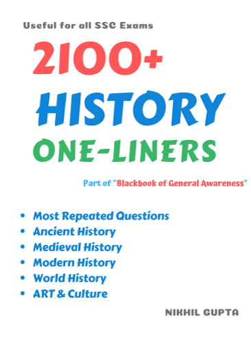 2100+ History One Liners (SSC Exams) Chapter Wise-get-lead-online-download